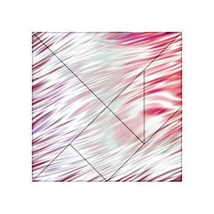Fluorescent Flames Background With Special Light Effects Acrylic Tangram Puzzle (4  X 4 )