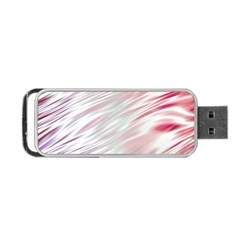 Fluorescent Flames Background With Special Light Effects Portable USB Flash (Two Sides)