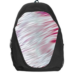 Fluorescent Flames Background With Special Light Effects Backpack Bag