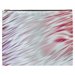 Fluorescent Flames Background With Special Light Effects Cosmetic Bag (XXXL)
