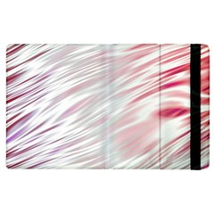 Fluorescent Flames Background With Special Light Effects Apple Ipad 2 Flip Case
