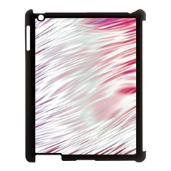 Fluorescent Flames Background With Special Light Effects Apple iPad 3/4 Case (Black)