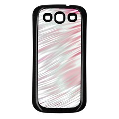Fluorescent Flames Background With Special Light Effects Samsung Galaxy S3 Back Case (Black)