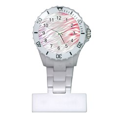 Fluorescent Flames Background With Special Light Effects Plastic Nurses Watch