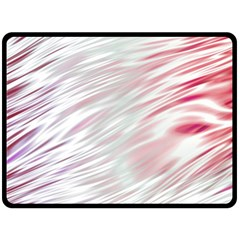 Fluorescent Flames Background With Special Light Effects Double Sided Fleece Blanket (Large)