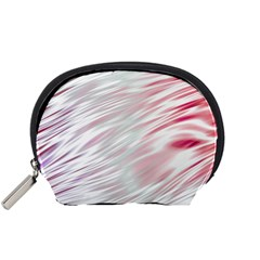Fluorescent Flames Background With Special Light Effects Accessory Pouches (small)