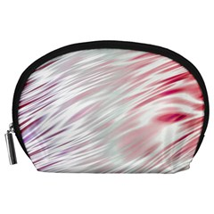 Fluorescent Flames Background With Special Light Effects Accessory Pouches (large)