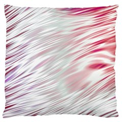 Fluorescent Flames Background With Special Light Effects Large Flano Cushion Case (Two Sides)