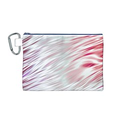 Fluorescent Flames Background With Special Light Effects Canvas Cosmetic Bag (m)