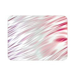 Fluorescent Flames Background With Special Light Effects Double Sided Flano Blanket (mini)