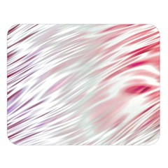 Fluorescent Flames Background With Special Light Effects Double Sided Flano Blanket (large)