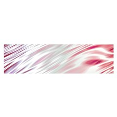 Fluorescent Flames Background With Special Light Effects Satin Scarf (Oblong)