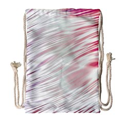 Fluorescent Flames Background With Special Light Effects Drawstring Bag (large)