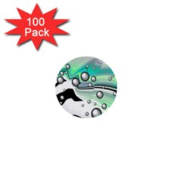 Small And Big Bubbles 1  Mini Buttons (100 pack)