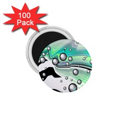 Small And Big Bubbles 1.75  Magnets (100 pack)