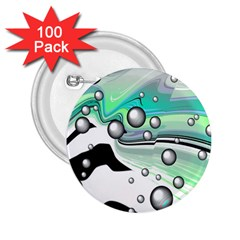 Small And Big Bubbles 2 25  Buttons (100 Pack)