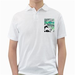 Small And Big Bubbles Golf Shirts