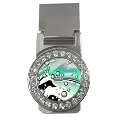 Small And Big Bubbles Money Clips (cz)