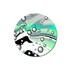 Small And Big Bubbles Magnet 3  (Round)
