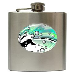 Small And Big Bubbles Hip Flask (6 oz)