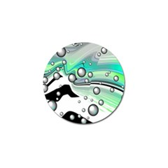 Small And Big Bubbles Golf Ball Marker