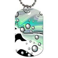 Small And Big Bubbles Dog Tag (Two Sides)