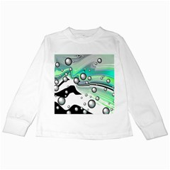 Small And Big Bubbles Kids Long Sleeve T-Shirts