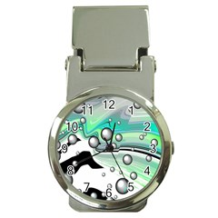 Small And Big Bubbles Money Clip Watches