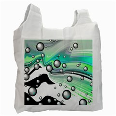 Small And Big Bubbles Recycle Bag (Two Side)