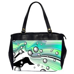 Small And Big Bubbles Office Handbags (2 Sides)