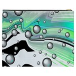 Small And Big Bubbles Cosmetic Bag (XXXL)  Back