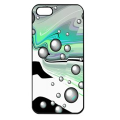 Small And Big Bubbles Apple iPhone 5 Seamless Case (Black)