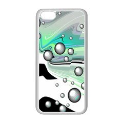 Small And Big Bubbles Apple iPhone 5C Seamless Case (White)