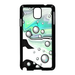 Small And Big Bubbles Samsung Galaxy Note 3 Neo Hardshell Case (black)