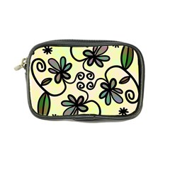 Completely Seamless Tileable Doodle Flower Art Coin Purse