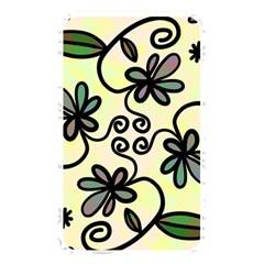 Completely Seamless Tileable Doodle Flower Art Memory Card Reader