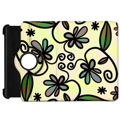 Completely Seamless Tileable Doodle Flower Art Kindle Fire Hd 7