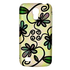 Completely Seamless Tileable Doodle Flower Art Galaxy S4 Mini