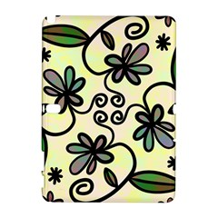 Completely Seamless Tileable Doodle Flower Art Galaxy Note 1