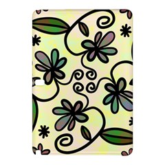 Completely Seamless Tileable Doodle Flower Art Samsung Galaxy Tab Pro 10.1 Hardshell Case