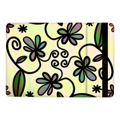 Completely Seamless Tileable Doodle Flower Art Samsung Galaxy Tab Pro 10 1  Flip Case