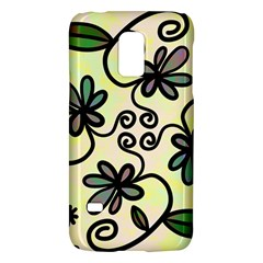 Completely Seamless Tileable Doodle Flower Art Galaxy S5 Mini