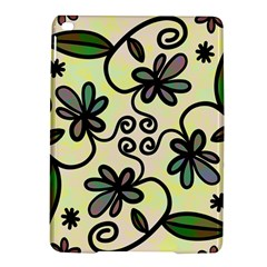 Completely Seamless Tileable Doodle Flower Art Ipad Air 2 Hardshell Cases