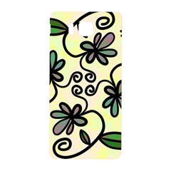 Completely Seamless Tileable Doodle Flower Art Samsung Galaxy Alpha Hardshell Back Case