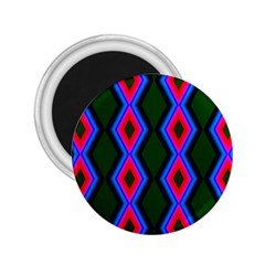 Quadrate Repetition Abstract Pattern 2.25  Magnets