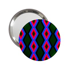 Quadrate Repetition Abstract Pattern 2 25  Handbag Mirrors