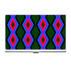 Quadrate Repetition Abstract Pattern Business Card Holders