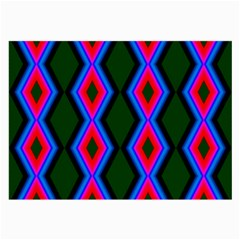Quadrate Repetition Abstract Pattern Large Glasses Cloth