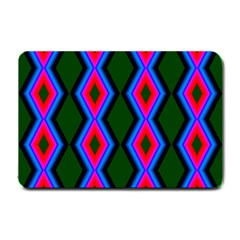 Quadrate Repetition Abstract Pattern Small Doormat