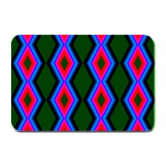 Quadrate Repetition Abstract Pattern Plate Mats